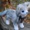 Купить Лиса-песец, Другие животные, Зверята, Куклы и игрушки ручной работы. Мастер   (Avi) . фетр