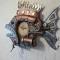 Купить Стимпанк часы рыба Королева, Для дома и интерьера ручной работы. Мастер Юрий Ши (oberegs) . авторсие часы