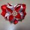 Купить Заколка - атласный цветок, Заколки, Украшения ручной работы. Мастер Татьяна  (Hosta) . атласная  лента