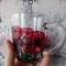 Купить Стеклянная кружечка с маками, Кружки и чашки, Посуда ручной работы. Мастер Анна Мотева (Dgokonda) . авторская роспись
