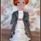 Купить Текстильная куколка Анна, Текстильные, Коллекционные куклы, Куклы и игрушки ручной работы. Мастер Наталья Ямалетдинова (Natsha) . большая кукла