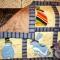 Купить Лоскутное одеяло Зайки на полянке, Лоскутные, Пледы и покрывала, Текстиль, ковры, Для дома и интерьера ручной работы. Мастер Фаина Гаврилова (gavr57faina) . квилт