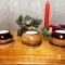 Купить Набор деревянных подсвечников для интерьера с чайными свечами, Подсвечники, Для дома и интерьера ручной работы. Мастер Юрий Большаков (hobbywood) . деревянные подсвечники