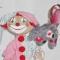 Купить клоун Егорка с лошадкой на палочке, Куклы и игрушки ручной работы. Мастер Наташа Фиалка (fialka) .