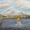 Купить Город на воде, Город, Картины и панно ручной работы. Мастер Проект Проект (art-vsplesk) . холст на подрамнике
