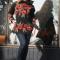Купить Свитер Маки на черном, Свитера, Кофты и свитера, Одежда ручной работы. Мастер Ега Ирина (Yaga) . женские свитера