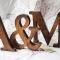 Купить Деревянные буквы винтаж, Элементы интерьера, Для дома и интерьера ручной работы. Мастер Александр Саченко (Woodsproot) . декор