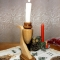 Купить Подсвечник деревянный_ ручная работа, Подсвечники, Для дома и интерьера ручной работы. Мастер Юрий Большаков (hobbywood) . подсвечник деревяный