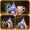 Купить Чайный гномик с чайным домиком, Наборы для кухни, Кухня, Для дома и интерьера ручной работы. Мастер Ольга Журавко (Olga1968) .