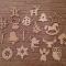 Купить Набор елочных игрушек 25 шт, Елочные украшения, Новый год, Подарки к праздникам ручной работы. Мастер Елена :-) (master2018) . год собаки