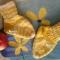 Купить Носки детские, Пинетки, Для новорожденных, Работы для детей ручной работы. Мастер Ирина Харлова (Noris) . вязаный снуд