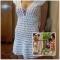 Купить Пляжное платье Дженифер крючком, Пляжные, Платья, Одежда ручной работы. Мастер   (Olga300476) . пляжная одежда