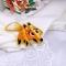 Купить Брошь лисичка вышитая желто-оранжевая Лисяш , Вышивка, Бисер, Броши, Украшения ручной работы. Мастер Ольга  (BROSHCLUB) . оранжевая брошь