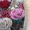 Купить розы в корзинке, Бисерные, Букеты, Цветы и флористика ручной работы. Мастер Светлана Орлова (Totochka) . бисерное плетение