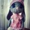 Купить Зайка в берете, Куклы и игрушки ручной работы. Мастер Наталья Мокрецова (NataliyaM) .