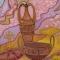 Купить Четыре вазы, Фантазийные сюжеты, Картины и панно ручной работы. Мастер Маргарита М (tangomagnol) .