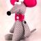 Купить Игрушка Мышка, Другие животные, Зверята, Куклы и игрушки ручной работы. Мастер   (Polli-Co) .