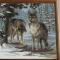 Купить Картина Волки, Животные, Картины и панно ручной работы. Мастер Анна Серая (AnnaGray79) . handmade куплю хэндмэйд