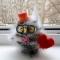 Купить Сова в подарок, Другие животные, Зверята, Куклы и игрушки ручной работы. Мастер Людмила  (pushistiki) . сова в подарок