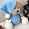 Купить Плюшевый мишка в пижаме ручной работы, Мишки, Зверята, Куклы и игрушки ручной работы. Мастер Юлия Жарчук (plushigrush) . для детей