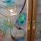 Купить Витражная перегородка Карнавал, Ширмы, Мебель, Для дома и интерьера ручной работы. Мастер Александр  (zerkalo) . перегородка межкомнатная