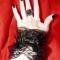 Купить Изящное украшение на руку, Текстильные, Браслеты, Украшения ручной работы. Мастер   (Lorylin) . готические украшения