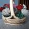 Купить розы в корзинке, Бисерные, Букеты, Цветы и флористика ручной работы. Мастер Светлана Орлова (Totochka) . розы ручной работы