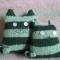 Купить Два кота, Персональные подарки, Подарки к праздникам ручной работы. Мастер   (Jane) . полушерстяная пряжа