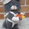 Купить Вязаный кот Сыровар, Коты, Зверята, Куклы и игрушки ручной работы. Мастер Анна Воробьева (Vorobyeva72-) . котик