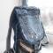 Купить Джинсовый рюкзачок, Рюкзаки, Сумки и аксессуары ручной работы. Мастер Елена Куликова (DenimFantasy) . авторские подарки ручной работы