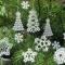 Купить Снежинки кружевные, Елочные украшения, Новый год, Подарки к праздникам ручной работы. Мастер Наталья Алексеева (n080673) .
