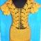 Купить платье желтое золотая осень, Вязаные, Коктейльные, Платья, Одежда ручной работы. Мастер Маргарита  (Margarita) .