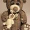 Купить Михасик, Мишки, Зверята, Куклы и игрушки ручной работы. Мастер   (Katerinka) . войлочный медведь