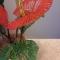 Купить корзина с антуриумами, Бисерные, Искусственные растения, Цветы и флористика ручной работы. Мастер Светлана Орлова (Totochka) . антуриум