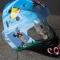 Купить Вратарский шлем (аэрография), Декор автомобилей ручной работы. Мастер Марина Олейникова (CheZaFignya) .