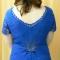 Купить Ажурная кофта Синие цветы, Топы, Одежда ручной работы. Мастер Дарья Амплеева (Darya-32) .