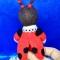 Купить Мила из Лунтика, Смешанная техника, Миниатюра, Куклы и игрушки ручной работы. Мастер Екатерина Шинкаренко (episton2) . проволока