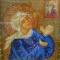 Купить Икона Матрона Московская бисером, Иконы, Картины и панно ручной работы. Мастер Дарья Пономарева (ponomareva) .