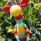 Купить Жираф-развивашка вязаный, Развивающие игрушки, Куклы и игрушки ручной работы. Мастер Марина Мандрик (Mamaarseniya) . жираф