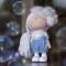 Купить Кукла текстильная ручной работы Снежная, Текстильные, Коллекционные куклы, Куклы и игрушки ручной работы. Мастер Татьяна К (TanyaK) . куклы