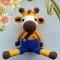Купить МК ЖИРАФИК РИЧЧИ, Другие животные, Зверята, Куклы и игрушки ручной работы. Мастер Ирина М. (MIRATOYS2020) . игрушка жираф