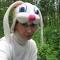 Купить шапка Голова зайца, Приколы, Сувениры и подарки ручной работы. Мастер Елена Ильина (lozayka) . поролон