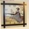 Купить Часы настенные Гейша в японском саду, Настенные, Часы для дома, Для дома и интерьера ручной работы. Мастер Светлана Тавлесан (Tavlesan) . настенные часы