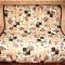 Купить Лоскутное одеяло Цветы, Лоскутные, Пледы и покрывала, Текстиль, ковры, Для дома и интерьера ручной работы. Мастер Фаина Гаврилова (gavr57faina) . лоскутное одеяло