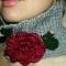 Купить цветочный воротник, Воротнички, Аксессуары ручной работы. Мастер Юлия Калманова (Filula) .