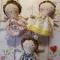 Купить Ангелочки Тильда, Куклы Тильды, Куклы и игрушки ручной работы. Мастер Юлия Кунаева (kunaevaJ) . аксессуар интерьера