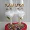 Купить Свадебные бокалы, Бокалы, стаканы, Посуда ручной работы. Мастер Венера Хасанова (amina2002) . торжество