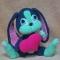 Купить Сердечный зайчик, Зайцы, Зверята, Куклы и игрушки ручной работы. Мастер Елизавета Базовкина (Amitoys) .