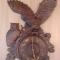 Купить Часы Совы, Для дома и интерьера ручной работы. Мастер Вячеслав Есин (Slav) . настенные часы