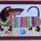 Купить Витражная картина Такса, Животные, Картины и панно ручной работы. Мастер Ирина  (ellu) . витраж